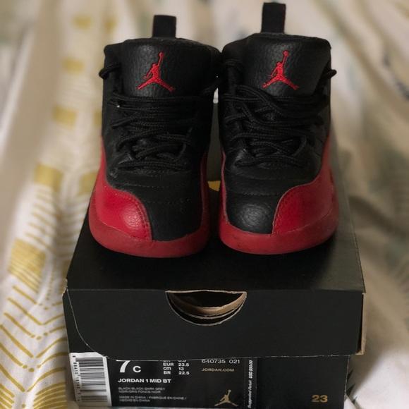 buy popular f800b 3da6c Jordan XII (12) Toddler Size 7C